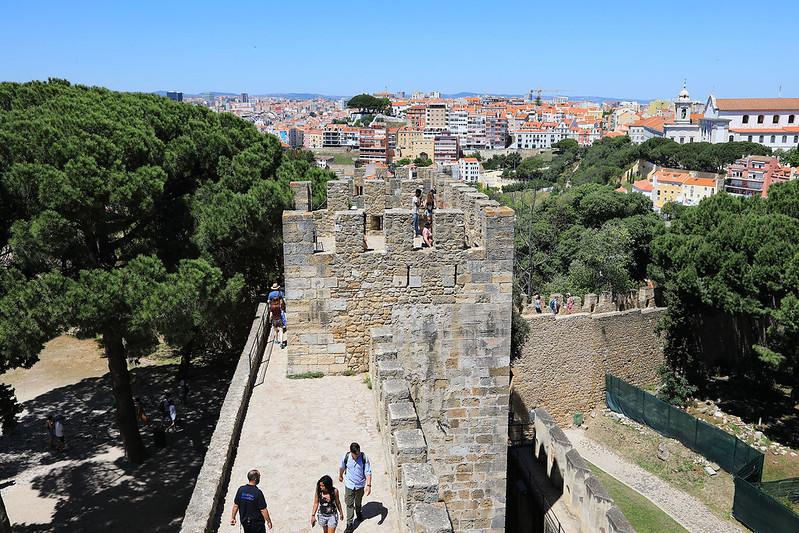 Castelo de São Jorge and Lisbon