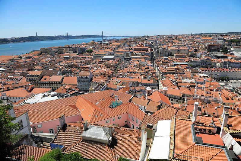 Lisbon from Castelo de São Jorge