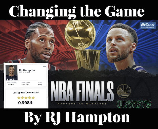 Changing the Game by RJ Hampton #Open084