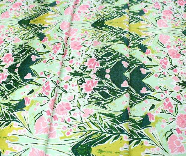 Art Gallery Fabrics Bloomsbury Ms Woolf Freshwater