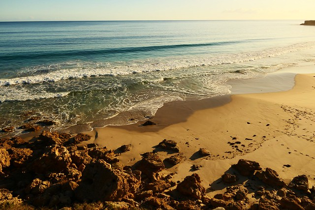 Late Afternoonn at Swimmers Beach, Yorke Peninsula, South Australia