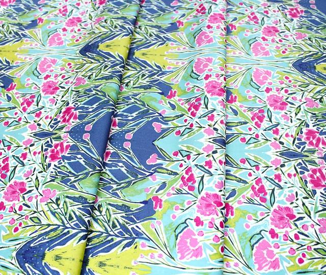 Art Gallery Fabrics Bloomsbury Ms Woolf Calmwater