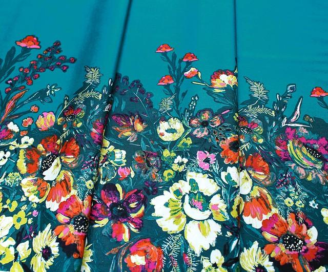 Art Gallery Fabrics Bloomsbury Roads to Flowerhouse PANEL
