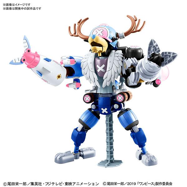 《ONE PIECE STAMPEDE》「喬巴合體機器人 劇場版本」組裝模型作品!チョッパーロボ TVアニメ20周年記念「ONE PIECE STAMPEDE」カラーVer.セット