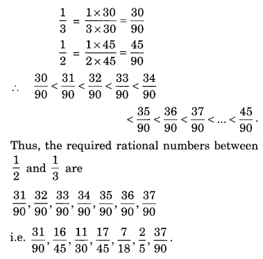 Extra Questions for Class 8 Maths Rational Numbers Q15