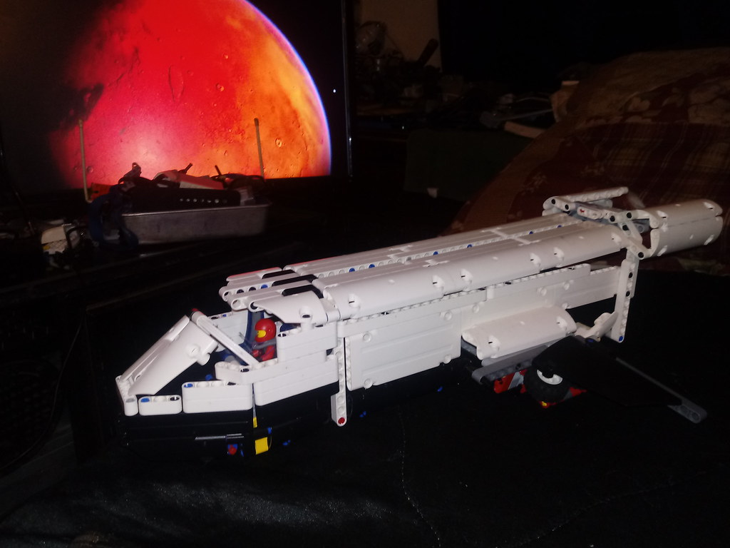 lego technic [TC16] EurobrX Space Shuttle/ Transporter