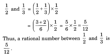 Extra Questions for Class 8 Maths Rational Numbers Q9