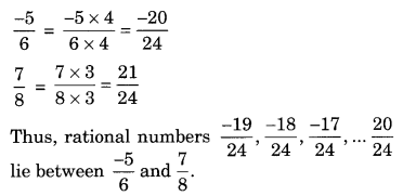 Extra Questions for Class 8 Maths Rational Numbers Q11
