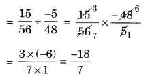 Extra Questions for Class 8 Maths Rational Numbers Q19