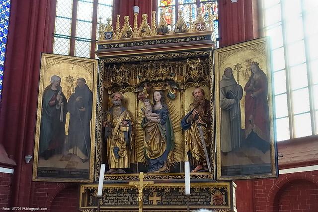 Dom St. Peter und Paul Lehniner Altar 1518