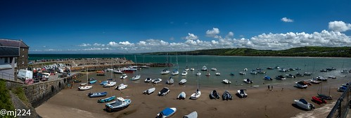New Quay Beach Panorama | by dudutrois