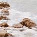 dead sea salt close up