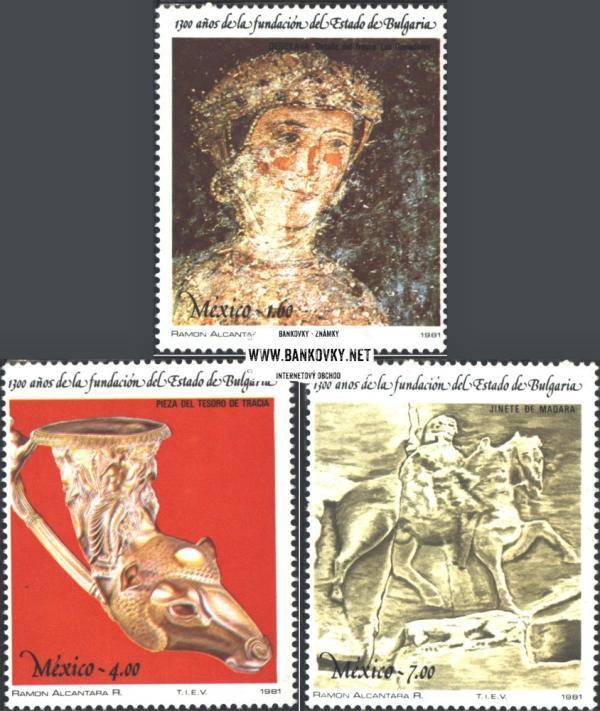 Známky Mexiko 1981 Umenie, MNH