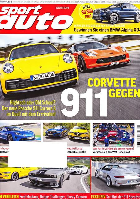 sport auto - 2019-06 - cover