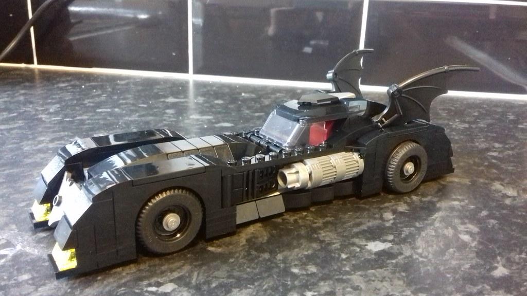 76119 New Batmobile 80th anniversary - LEGO Licensed
