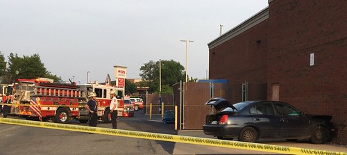 Bladensburg Road: Car Strikes CVS & a Carryout Serves Up a Racial Slur w/Noodles