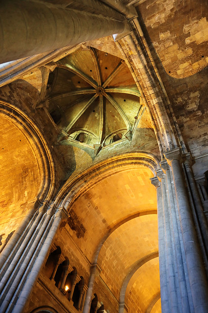 Lisbon Cathedral ceiling