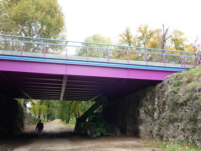 Ponte via XX settembre Milano