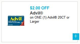 photo regarding Advil Printable Coupon known as $2/1 Advil Coupon: Help save Practically 50% upon Advil at Meijer with