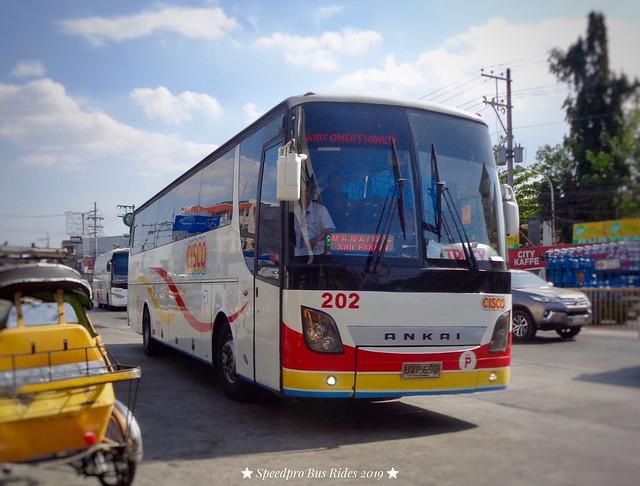 My return ride to home (Luzon Cisco Transport Inc. #202)