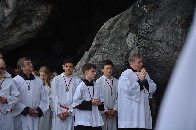 Day 2 Lourdes - Grotto Mass