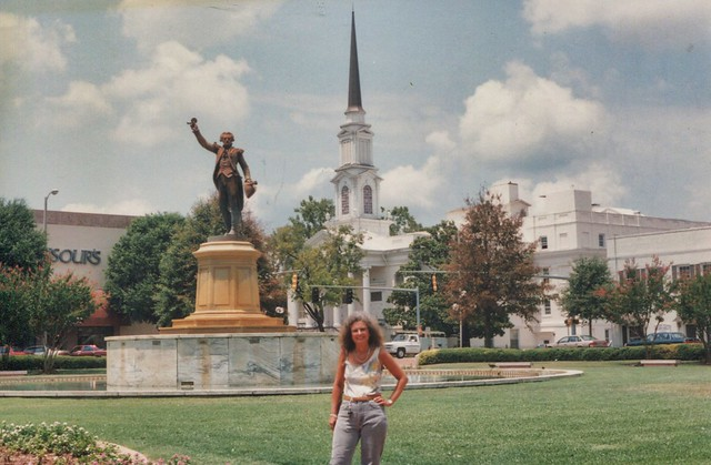 La Grange Georgia - La Fayette Square - HIstoric Downtown - Memories of the Past