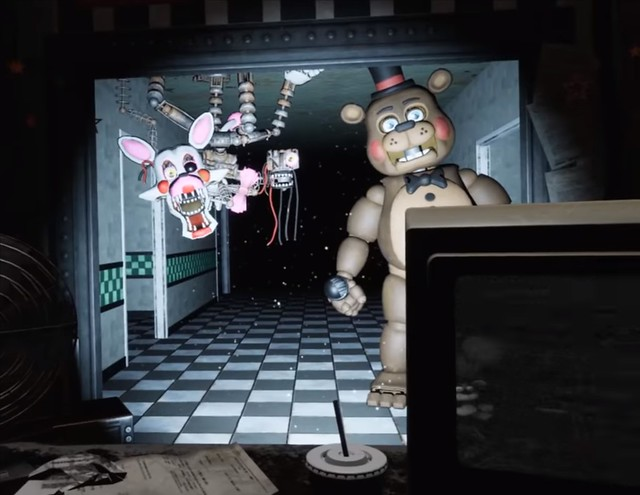 Cinco noches en la RV de Freddy - FNAF2 Night 4