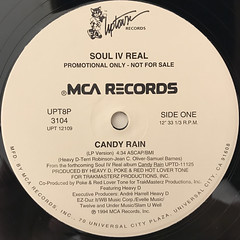 SOUL IV REAL:CANDY RAIN(LABEL SIDE-A)