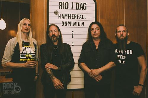 HammerFall meet & greet, Bio Rio 20190528
