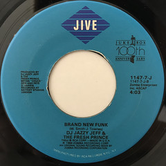 DJ JAZZY JEFF & THE FRESH PRINCE:GIRLS AIN'T NOTHING BUT TROUBLE(1988 SINGLE VERSION)(LABEL SIDE-B)