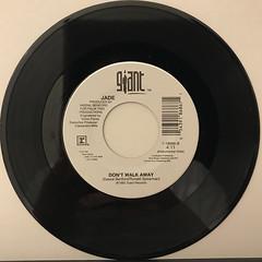 JADE:DON'T WALK AWAY(RECORD SIDE-B)