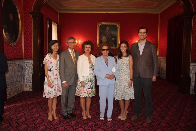 Cerimónia de assinatura de contrato de Professores Catedráticos de FCTUC e da FMUC