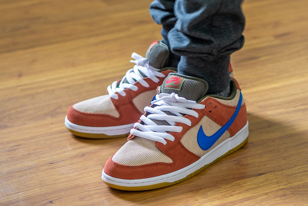 san francisco reputable site attractive price Nike SB Dunk Low Corduroy Dusty Peach WDYWT On Feet | Flickr