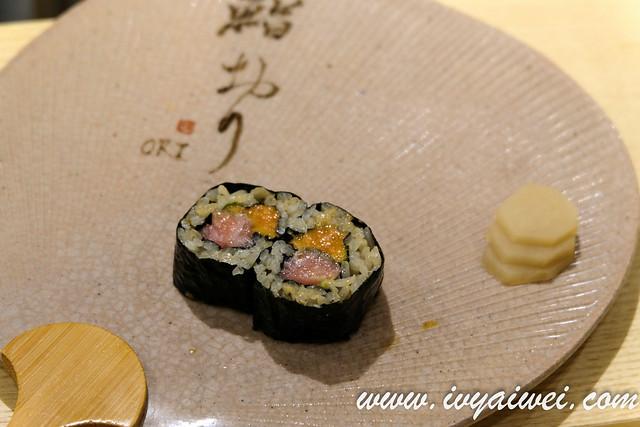 Sushi ori sushi omakase (39)