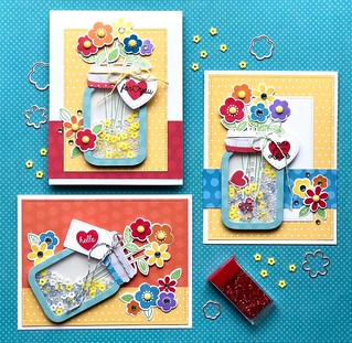 Rainbow in a Jar Card Collection
