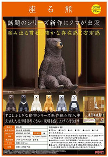 《奇譚俱樂部》大好評『坐著系列』 第四彈「坐著的熊」!座る熊