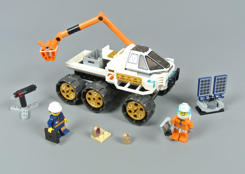 Lego City Space Rover TEST DRIVE Building Set 60225