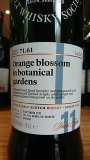 SMWS 71.61 - Orange blossom in botanical gardens