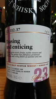 SMWS 112.37 - Teasing and enticing