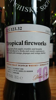 SMWS 123.32 - Tropical fireworks