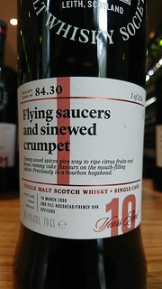 SMWS 84.30 - Flying saucers and sinewed crumpet