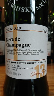 SMWS G10.19 - Bière de Champagne