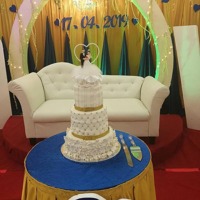 Wedding Cake by Vaani Murugan of Premium Delights