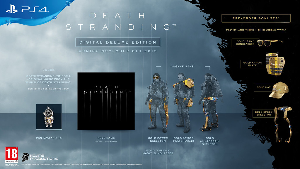Death Stranding Digital Deluxe Edition