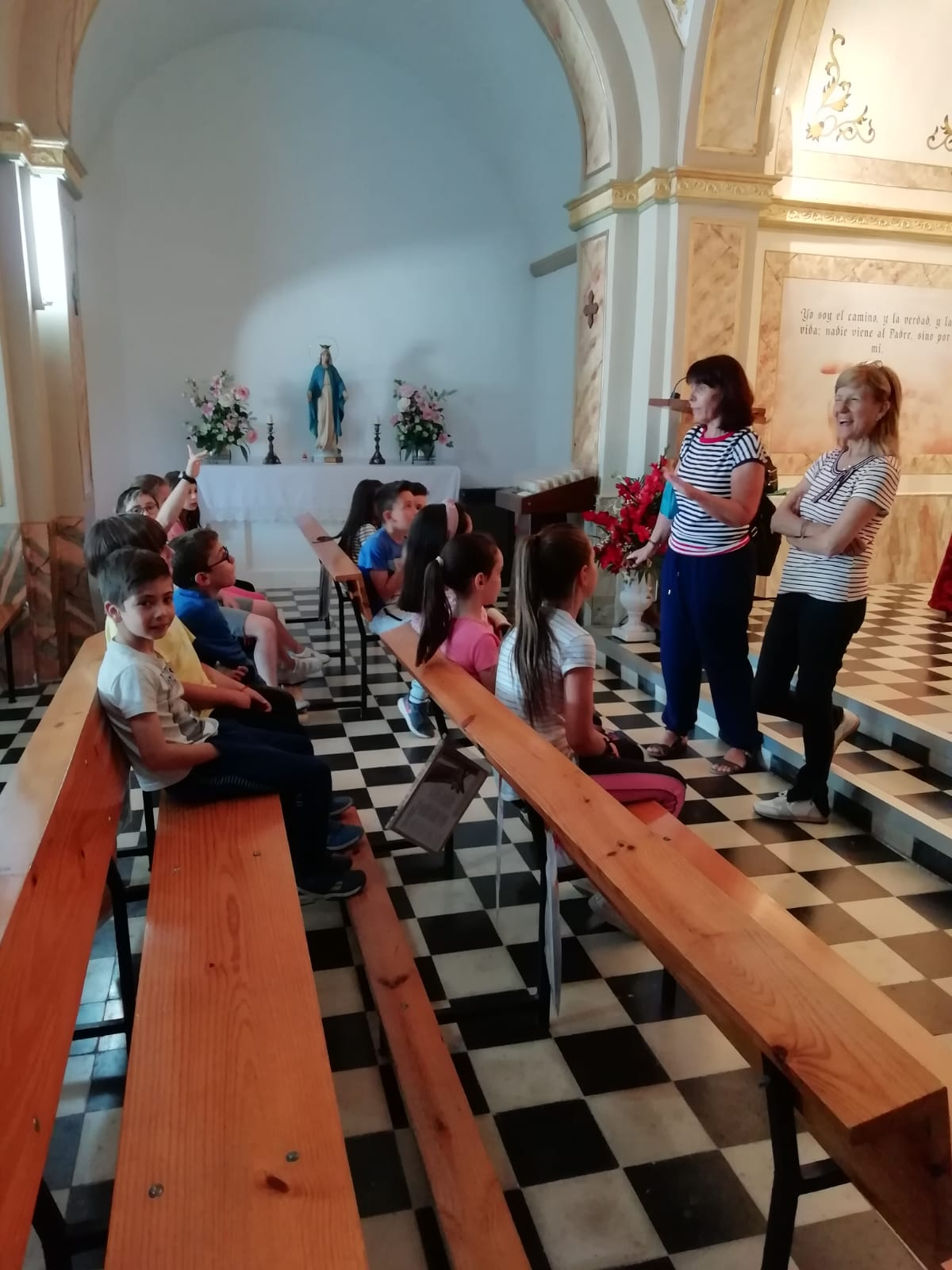 (2019-05-23) Visita ermita alumnos Laura - 3 C primaria - Reina Sofia - María Isabel Berenguer (05)