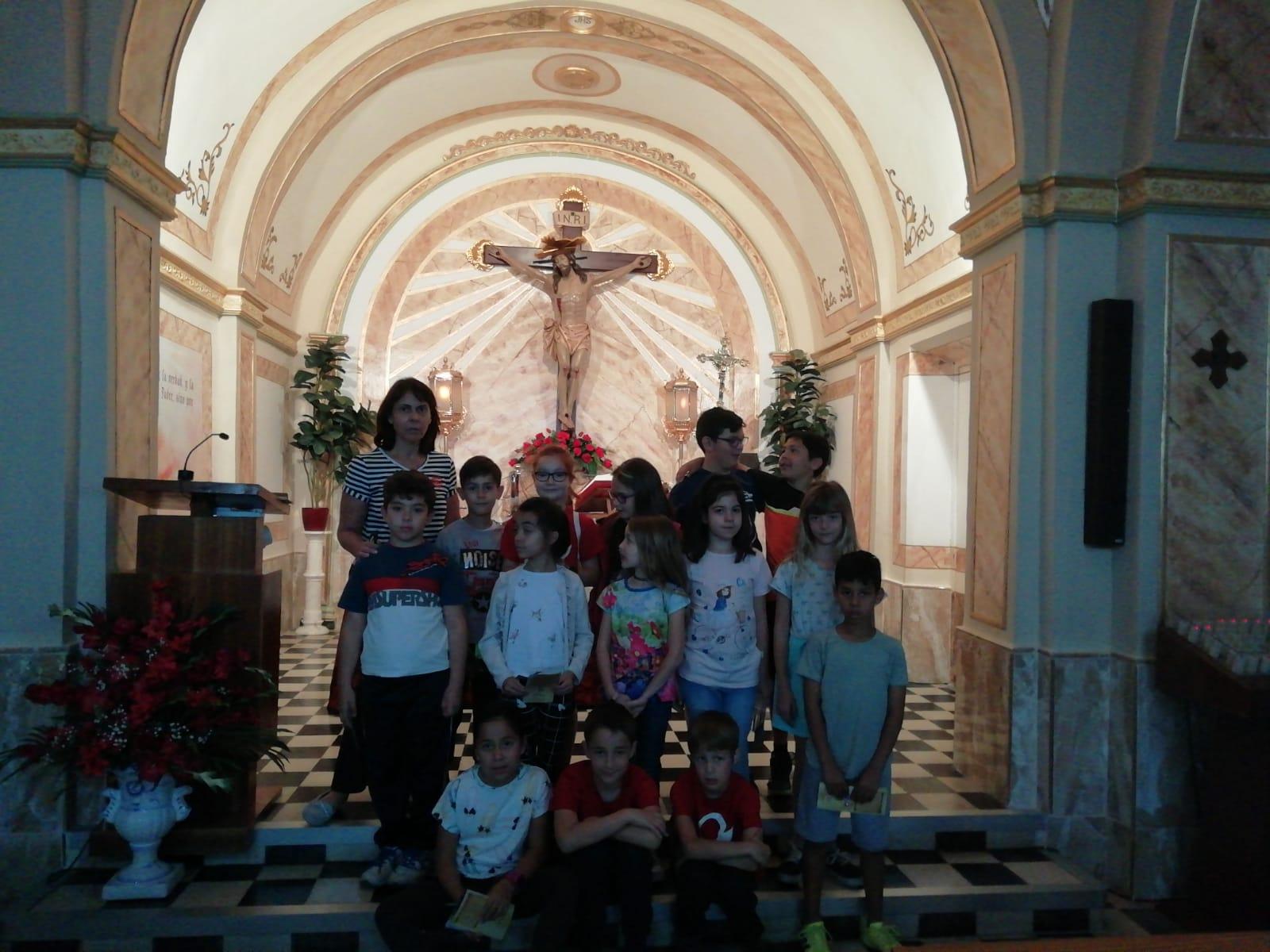 (2019-05-24) Visita ermita alumnos Laura - 3 A primaria - Reina Sofia - María Isabel Berenguer (03)