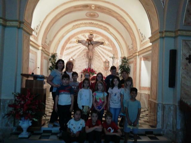 (2019-05-24) Visita ermita alumnos Laura - 3 A primaria - Reina Sofia - María Isabel Berenguer (04)