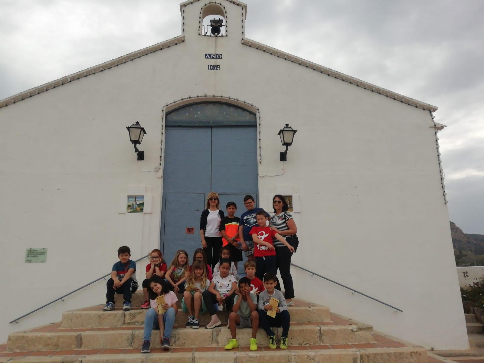 (2019-05-24) Visita ermita alumnos Laura - 3 A primaria - Reina Sofia - María Isabel Berenguer (01)