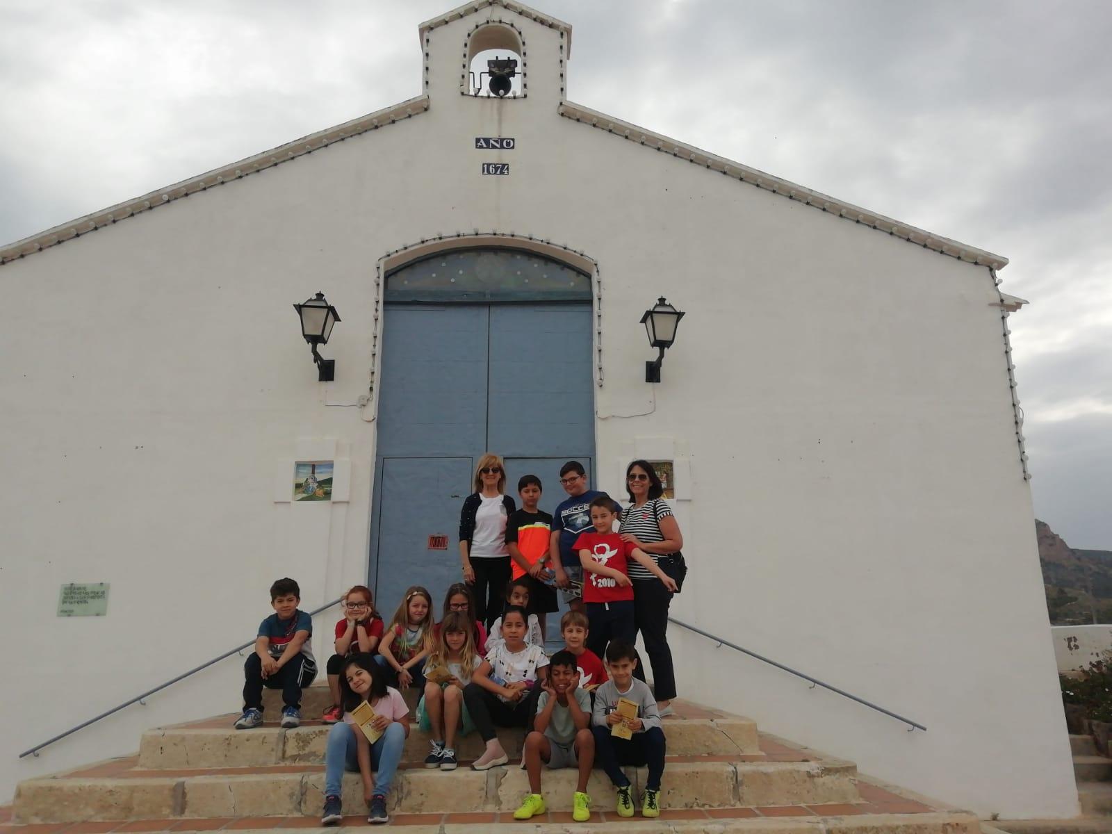 (2019-05-24) Visita ermita alumnos Laura - 3 A primaria - Reina Sofia - María Isabel Berenguer (02)
