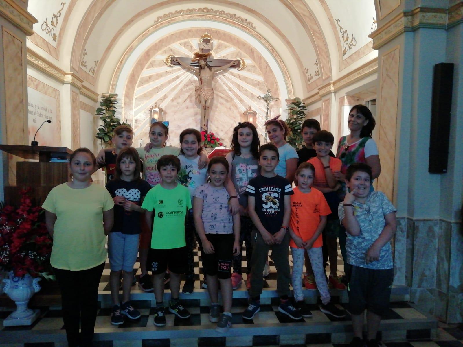 (2019-05-29) Visita alumnos Laura - 3 B primaria - Reina Sofia - Isabel B (09)